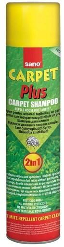 Imagine Detergent Spray Sano Carpet Plus, 2 in 1, pe baza de spuma, pentru toate tipurile de covoare