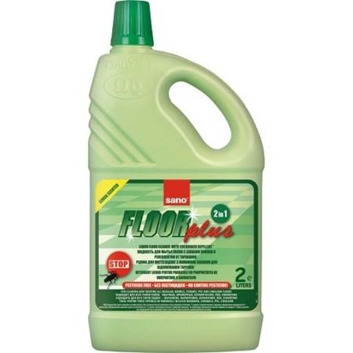Imagine Detergent pentru pardoseala Sano Floor Plus, importriva taratoarelor, 2 L