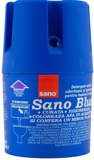 Imagine Odorizant pentru vasul toaletei Sano Blue, 150 grame