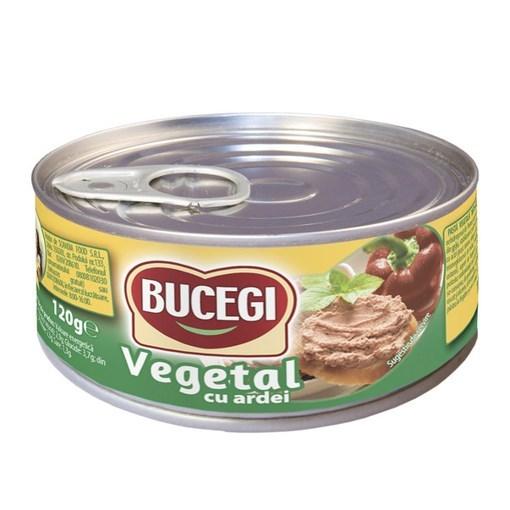 Imagine Bucegi Pasta vegetala cu ardei 120 gr.