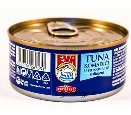 Imagine Eva Ton Maruntit in Ulei Vegetal 160 gr