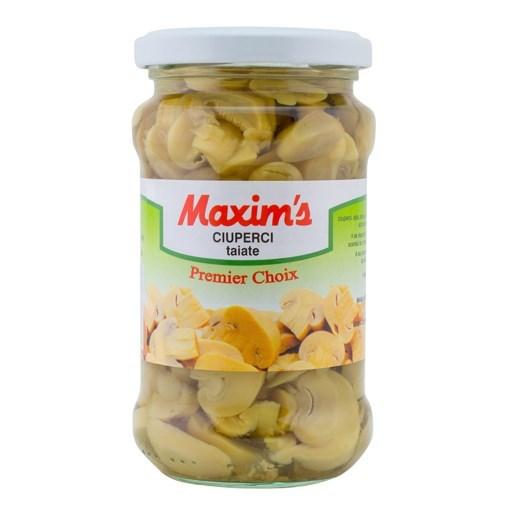 Imagine Maxim's Ciuperci taiate in borcan 280 gr