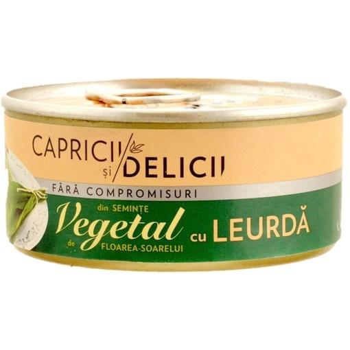 Imagine Pate vegetal cu Leurda Capricii si Delicii 115 gr