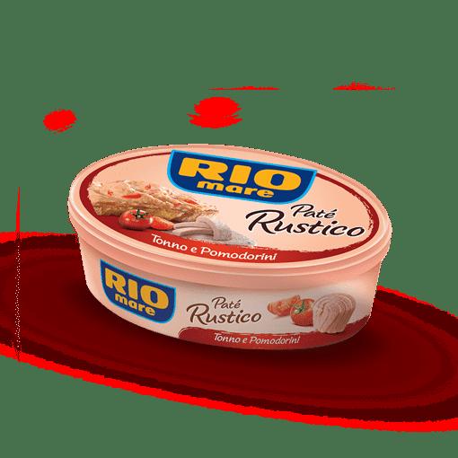 Imagine Rio Mare Pate rustico ton rosii 115gr