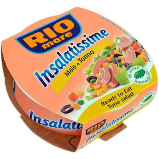Imagine Rio Mare Salata Ton cu Porumb  Insalatissime 160 grame