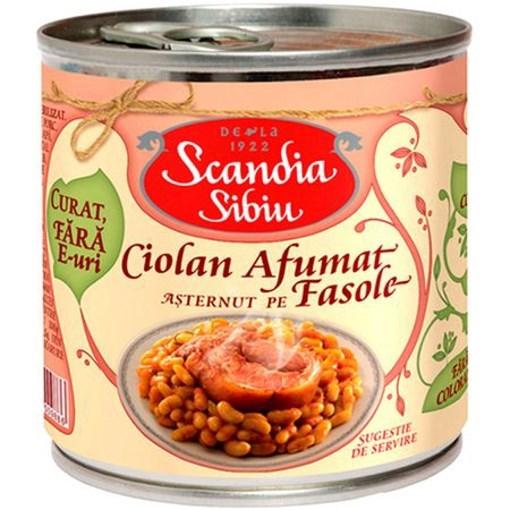 Imagine Scandia Sibiu Ciolan porc cu fasole 400 gr