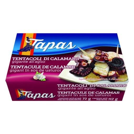 Imagine Tapas Tentacule calamar in sos Galicia 112 gr