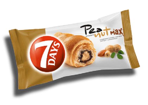 Imagine Croissant 7Days cu alune, 80g