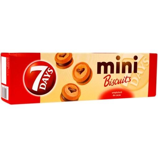 Imagine 7Days mini biscuiti cu cacao 100gr