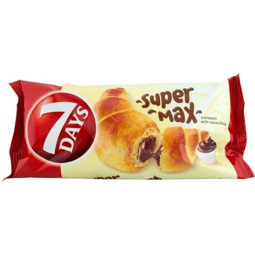 Imagine 7Days super max dublu ciocolata si vanilie 110gr