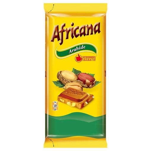 Imagine Africana Ciocolata Arahide 90g