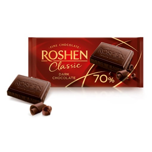 Imagine Chocolate Roshen Classic 70%, 90g