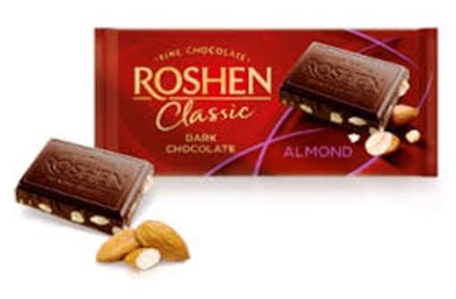 Imagine Chocolate Roshen Classic Almond 90g