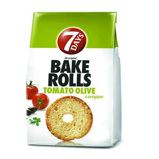 Imagine 7Days bakerolls cu rosii si oregano 80 gr