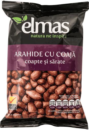 Imagine Arahide cu coaja coapte Elmas 300 gr