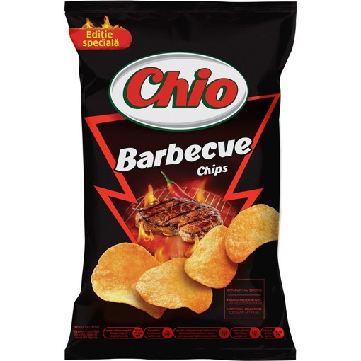 Imagine Chio Chips cu barbeque 100 gr