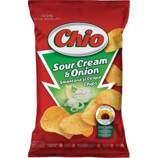 Imagine Chio Chips cu smantana si ceapa 255 gr