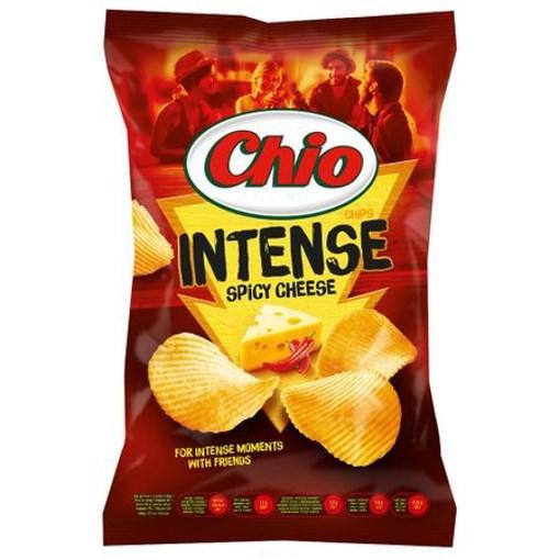 Imagine Chio Chips intense cu branza picanta 95 gr