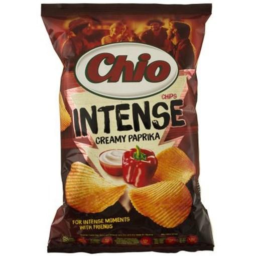 Imagine Chio Chips intense cu paprika 135 gr