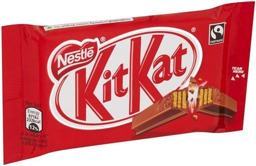 Imagine Kit Kat 4 Finger