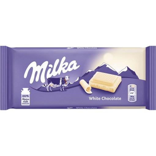 Imagine Milka ciocolata alba 100g