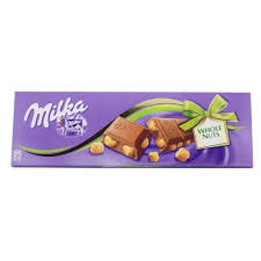 Imagine Milka ciocolata alune intregi, 100 gr.