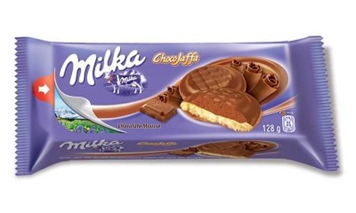 Imagine Milka Jaffa Choco Mousse, 128 gr.
