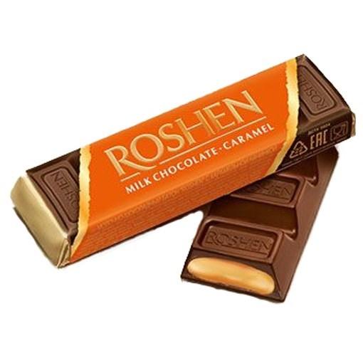 Imagine Roshen Choco Bars Caramel 40g