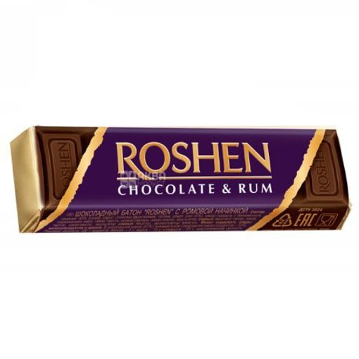 Imagine Roshen Choco Bars Rum Fill 43 gr.