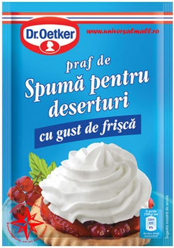 Imagine Spuma Desert cu gust de frisca, 48 gr.