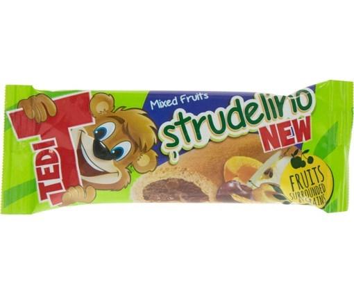 Imagine Tedi Strudelino Mix de Fructe 21 gr.