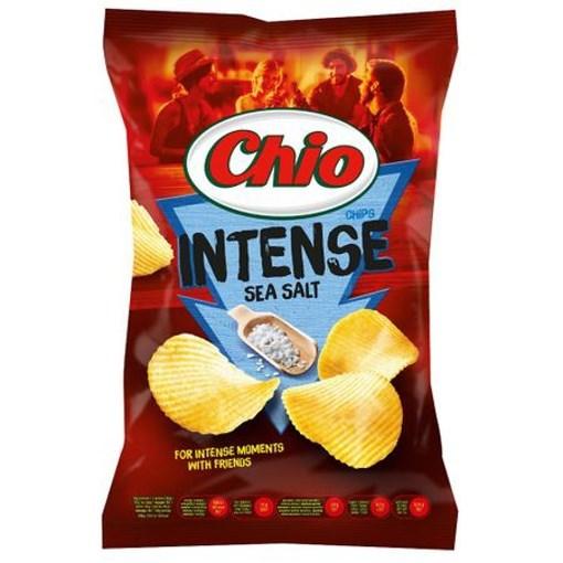 Imagine Chio Chips intense cu sare de mare 135 gr.