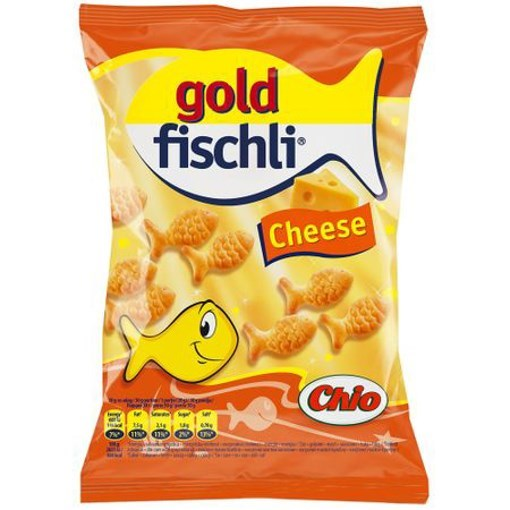Imagine Goldfischli cu branza 100 gr.