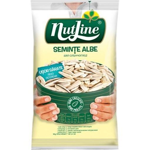 Imagine Nutline seminte floarea soarelui albe usor sarate 40 gr.