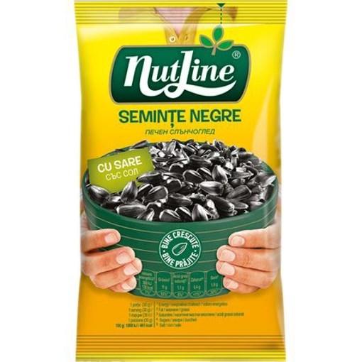 Imagine Nutline seminte floarea soarelui negre cu sare 40 gr.