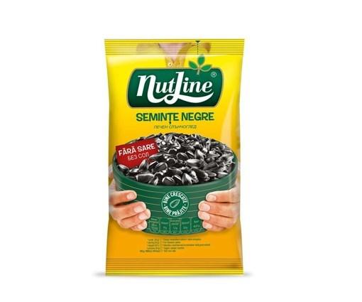 Imagine Nutline seminte floarea soarelui negre fara sare 100 gr.