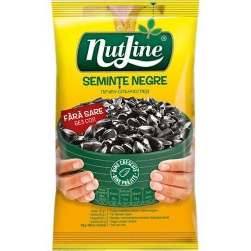 Imagine Nutline seminte floarea soarelui negre fara sare 40 gr.