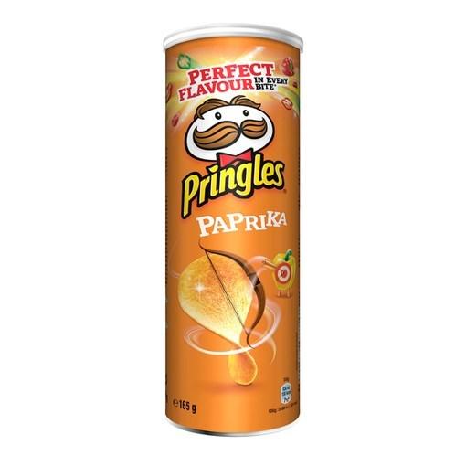 Imagine Pringles Paprika, 165 gr.