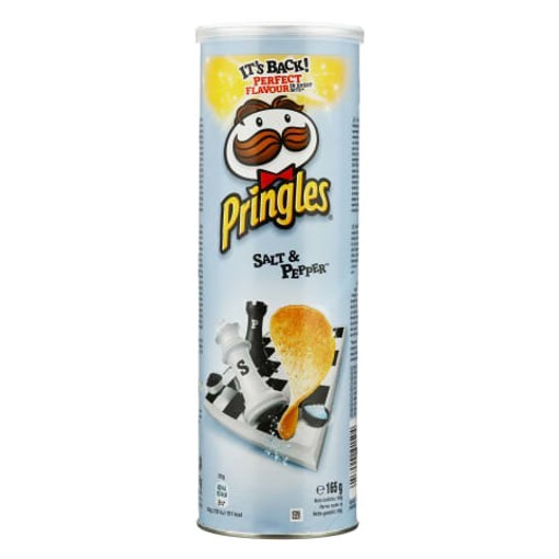 Imagine Pringles Salt & Pepper, 165 gr.