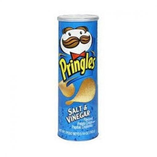 Imagine Pringles Salt & Vinegar, 165 gr.