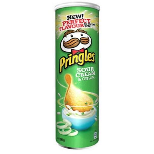 Imagine Pringles Sour Cream & Onion, 165 gr.