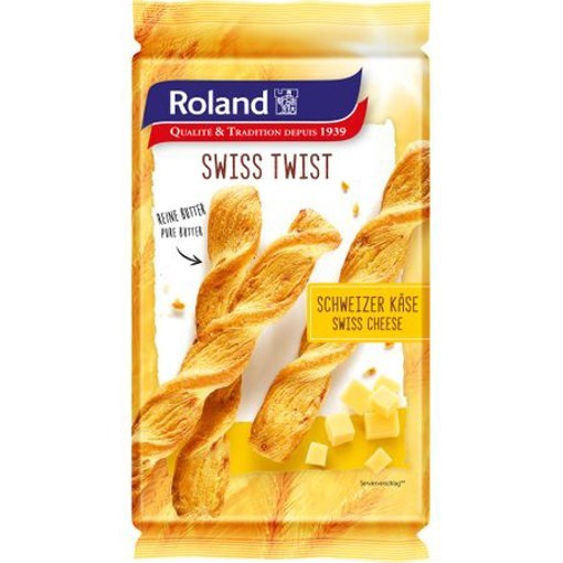 Imagine Spirale Twist cu branza elvetiana Roland 100 grame