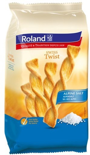 Imagine Spirale Twist cu sare alpina Roland 100 grame