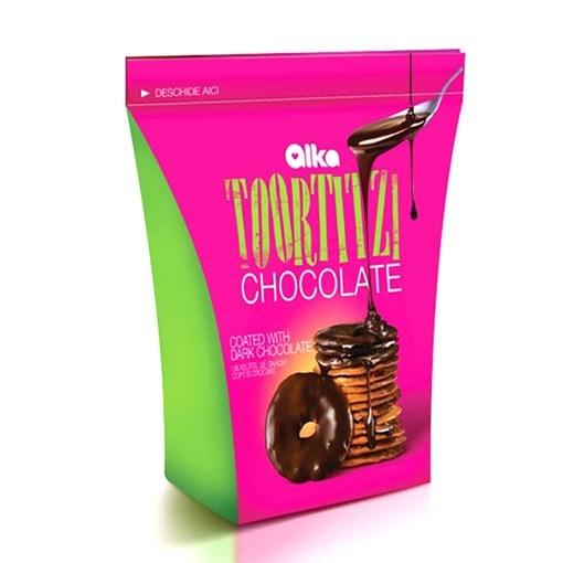 Imagine Toortitzi Glazurati Ciocolata Neagra 100G
