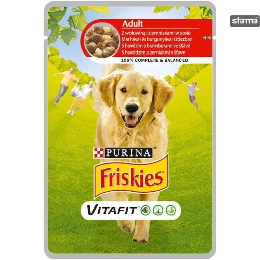 Imagine Friskies Adult Dog Beef 100g