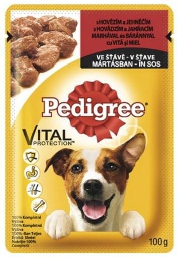 Imagine Pedigree plic Vita si Miel, 100 gr.