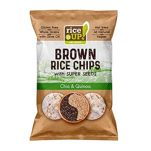 Imagine Rice Up Chips Chia & Quinoa 60 gr