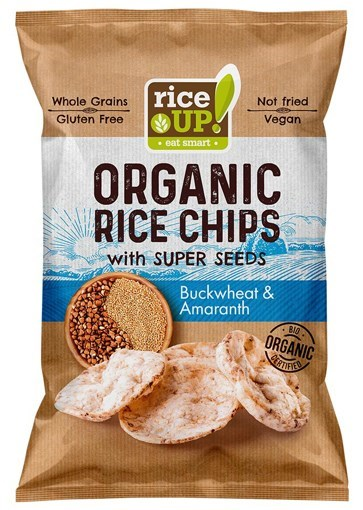Imagine Rice up chips cu amarant & Hrisca 60 grame
