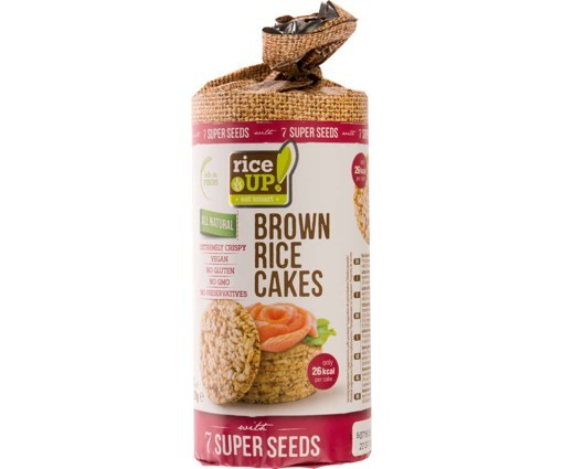 Imagine Rice Up Rondele cu 7 Super Seminte 120 grame