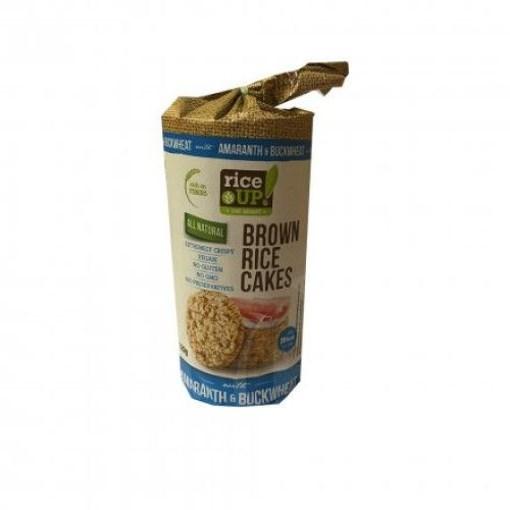 Imagine Rice Up Rondele cu Amarant si Hrisca 120 grame